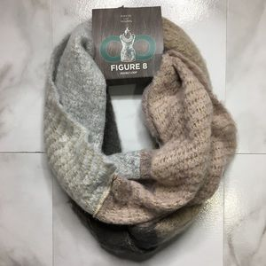 Nude Knit Warm Infinity Large Soft Winter Scarf